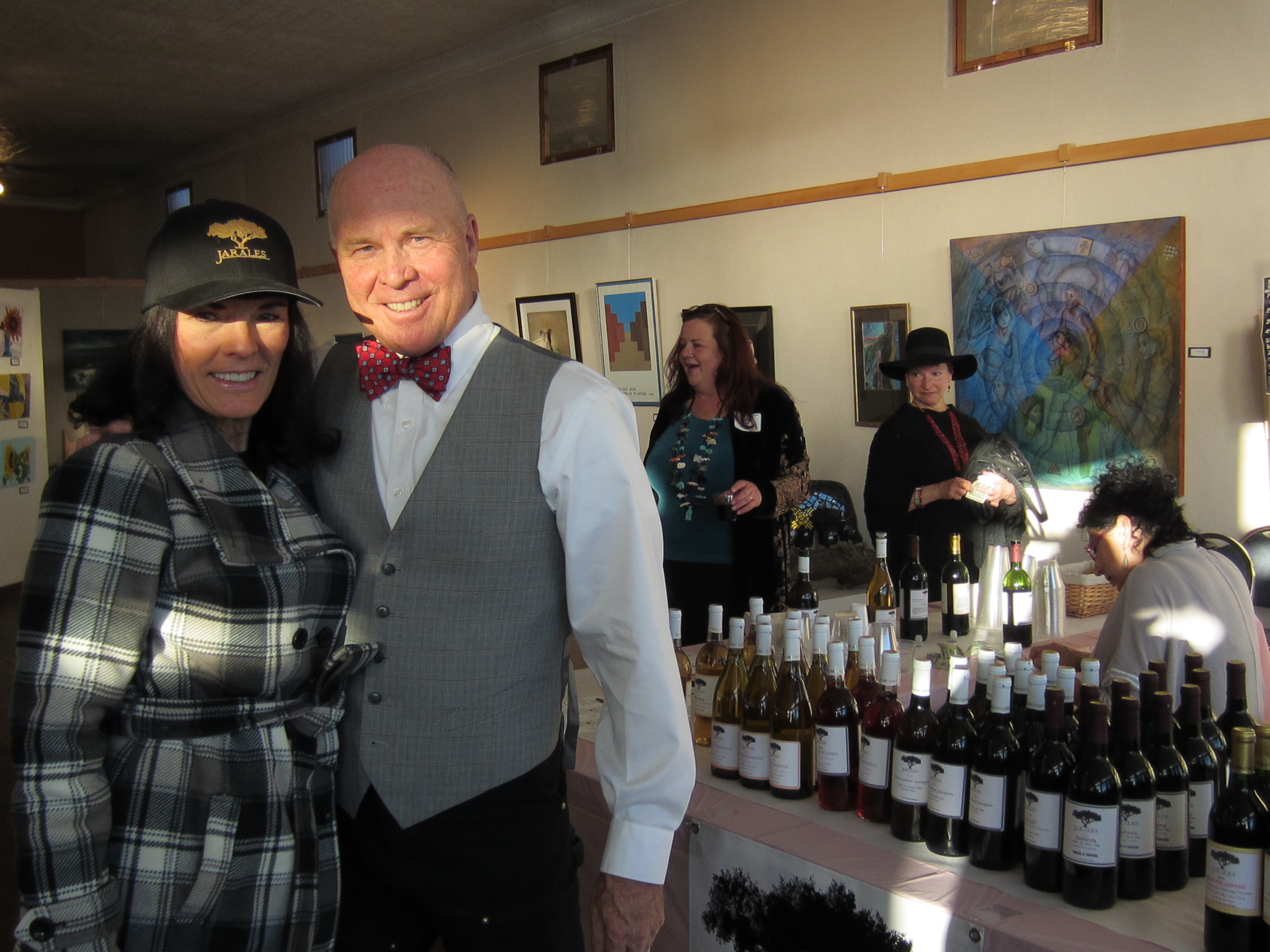 With An American Wino Member